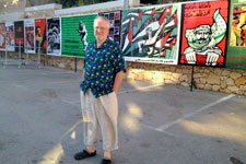 Dan Walsh in Ramallah